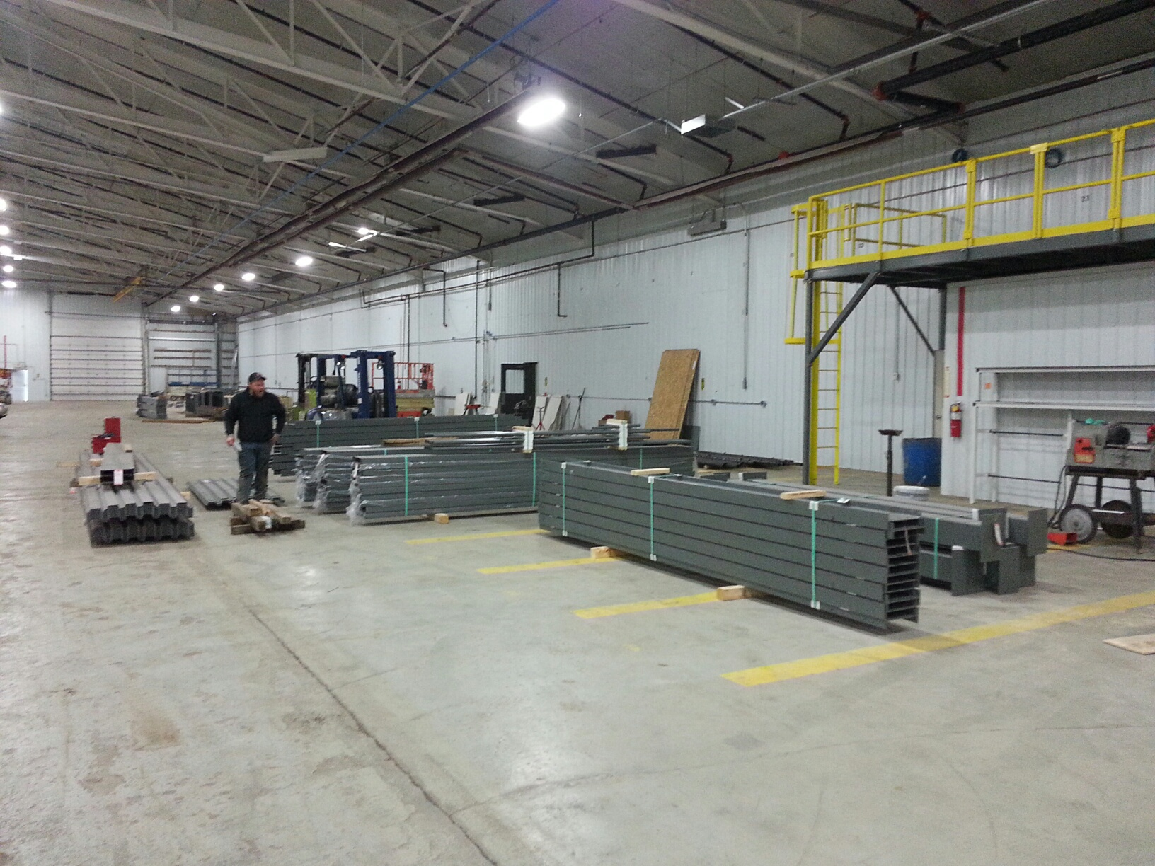 Wildeck Mezzanine Installation | Step 1 | Get Pricing Today!