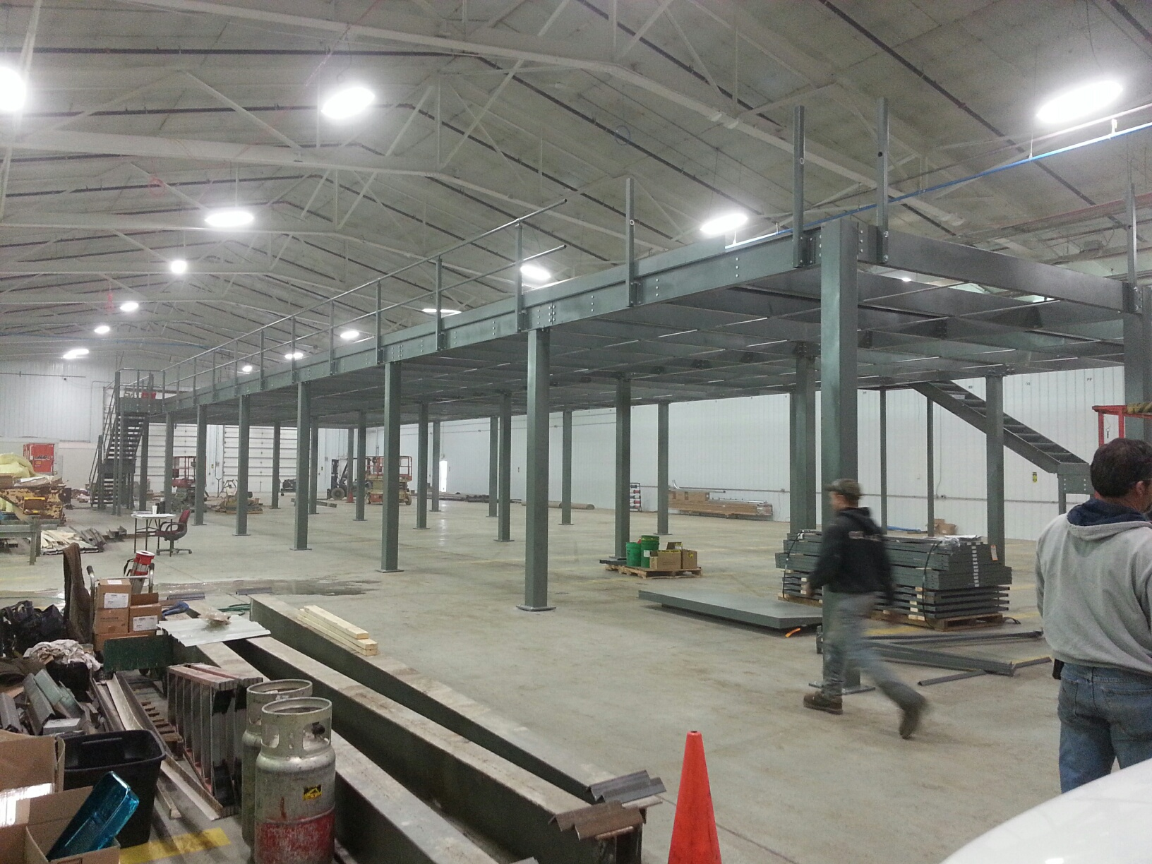 Wildeck Mezzanine Installation | Step 3 | Get Pricing Today!