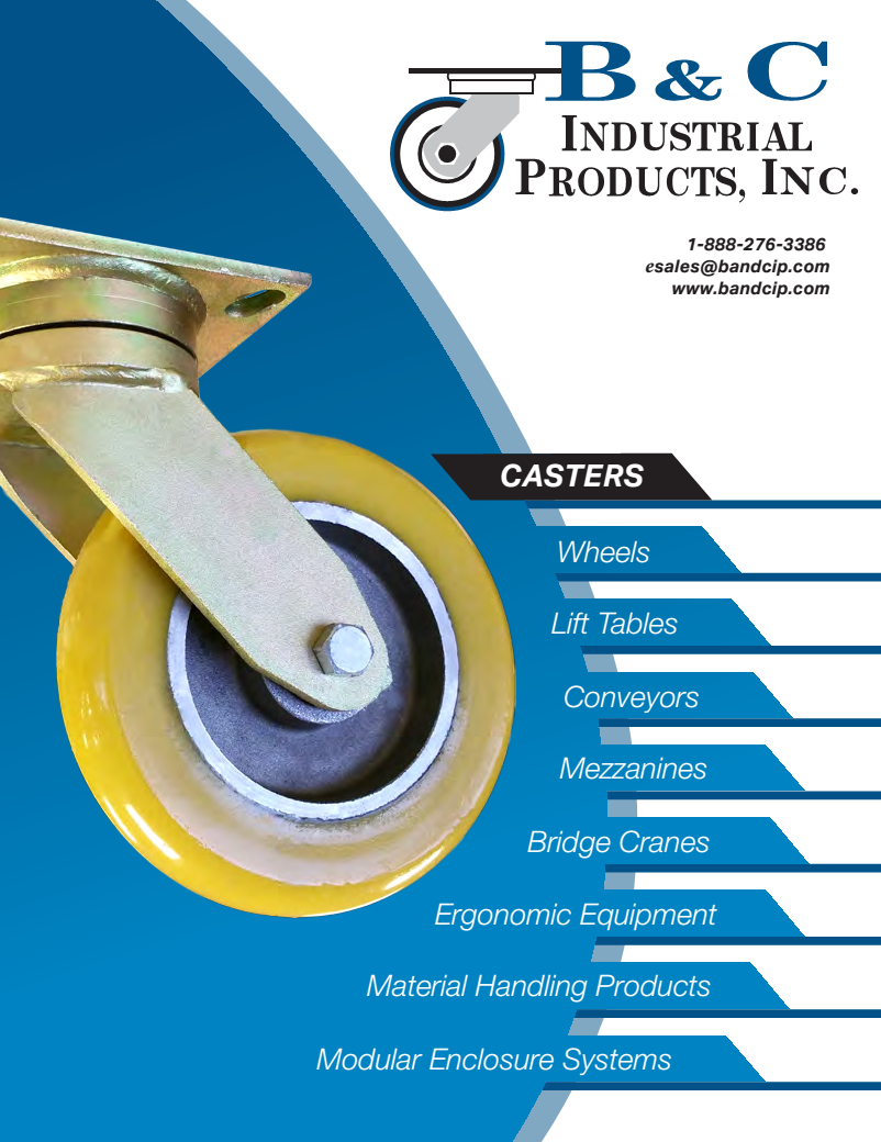 B & C Industrial Products PDF Catalog | Download Today