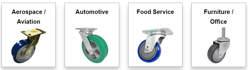 Casters By Industry | OEM & BULK Pricing Available | Shop B & C!