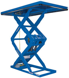 Double Scissor Lift Table | Vestil Manufacturing