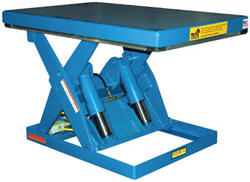 EHLTS & EHLTSD Series Scissor Lift Tables | Available @ B & C Industrial Products