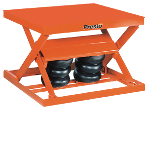 AX Series Pneumatic Scissor Lifts | Presto Lifts