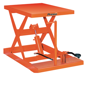 XF Series Manual Scissor Lift Tables | Presto Lifts