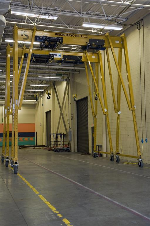 Gantry Cranes | Spanco | Get Pricing Today!