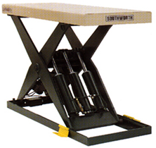 LS Series Wide Base Lift Tables | Southworth Lifts
