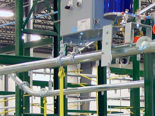 Enclosed Track Overhead Conveyor