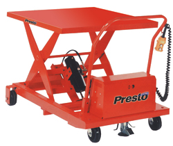 XBP/WBP Series DC Electric Lifts | Presto Lifts