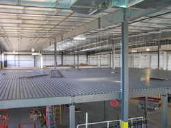 Mezzanines industrial mezzanine wildeck mezzanines free for Mezzanine cost estimate